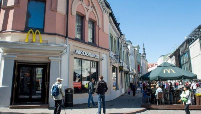 McDonald's в Таллине начал продавать пиво