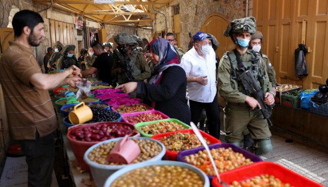 Turcija neļaus Izraēlai anektēt daļu Palestīnas, brīdina Erdogans
