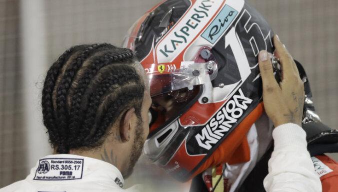 'Ferrari' boss satriekts par Leklēra neveiksmi Bahreinas posmā
