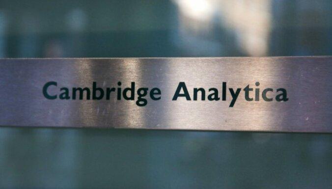 'Cambridge Analytica' māteskompānija savulaik sadarbojusies ar NATO centru Rīgā
