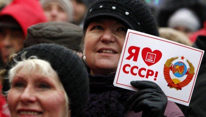 'Latviskums Padomju savienībā plauka un zēla', nostalģiski spriež dezinformatori