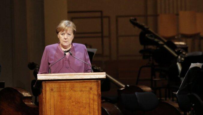 Vācija apņēmusies pabeigt 'Nord Stream 2' būvi