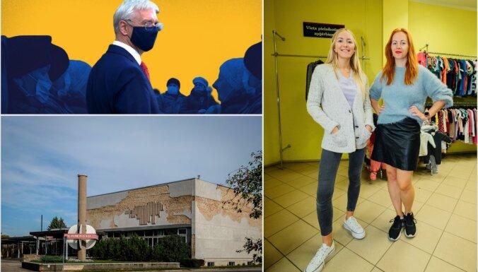 'Delfi' plus: sejas maskas Latvijā, slavenais kolhozs un humpalu bodes