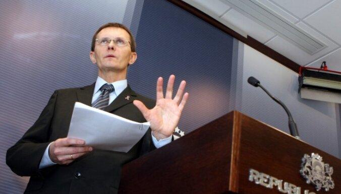 Голосование по Hipotēku banka: Вилкс угрожал партнерам отставкой