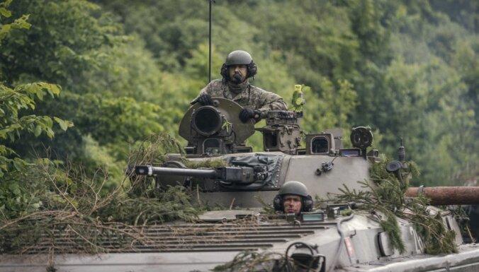 На следующей неделе начнутся учения Saber Strike: на дорогах будет много военной техники