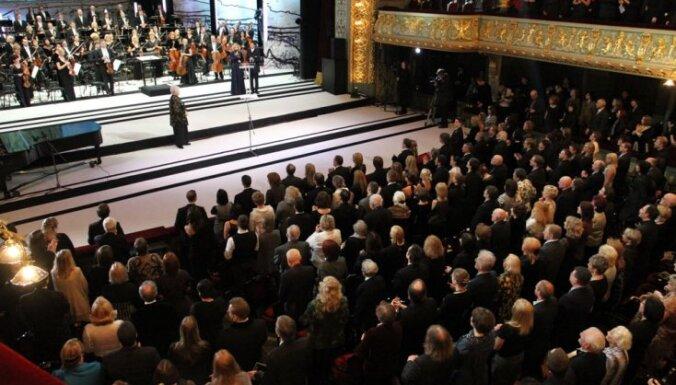 Lielās Mūzikas balvas 2011 ceremoniju tiešraidē varēs noskatīties LTV1