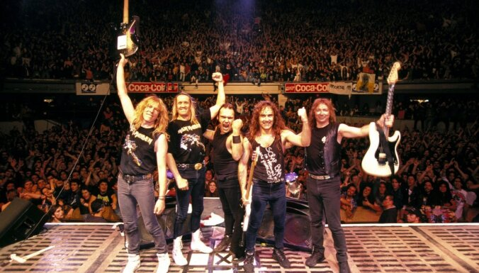 Rokenrola slavas zālei jāskaidrojas par 'Iron Maiden' neizraudzīšanos pagodinājumam