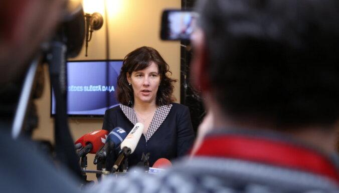 'Iespējamajai misijai' finansējums jārod IZM resorā, uzskata finanšu ministre