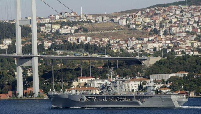 ВМФ РФ: второй военный корабль США зашел в акваторию Черного моря