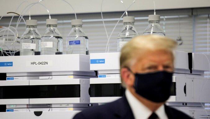 """""""Сюрприз для патриотов"""": президент Трамп ненадолго покинул госпиталь"""