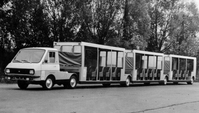 Rīgas Motormuzejs 1979. gadā ražotu autovilcienu restaurēs par 55 tūkstošiem eiro
