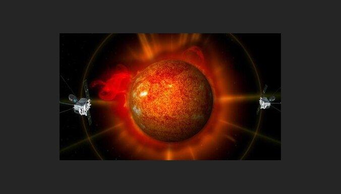 Iegūst pirmo vēsturē trīsdimensiju Saules attēlu