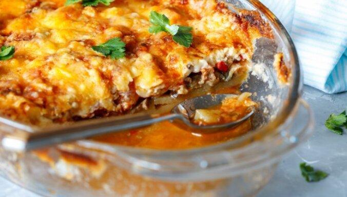 Maltā gaļa un kartupeļi: 15 vienkārši sacepumi, ar kuriem nenošausi greizi
