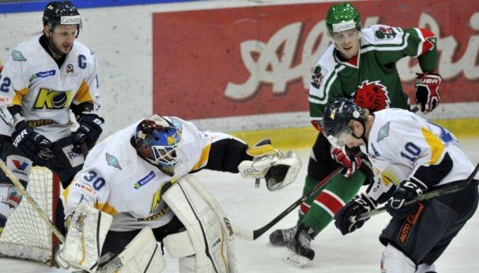 'Kurbads' ar uzvaru sāk Latvijas hokeja virslīgas finālsēriju
