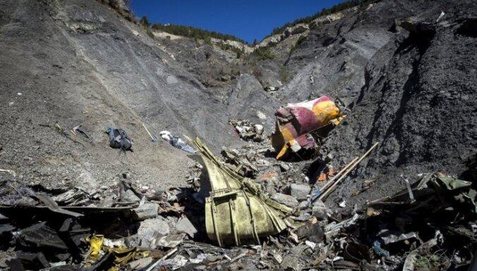'Germanwings' lidmašīnas katastrofā bojāgājušo tuvinieki vērsīsies ASV tiesā