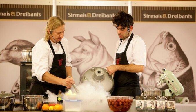 Foto: Sirmais un Dreibants prezentē savas jaunās garšvielas