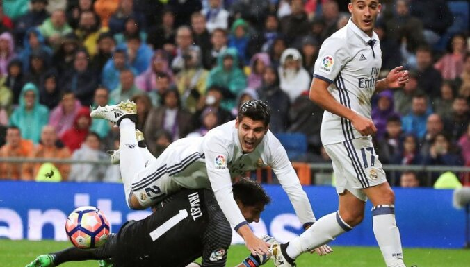 Real Madrid - Athletic Bilbao, Alvaro Morata, Lucas Vazquez, Gorka Iraizoz