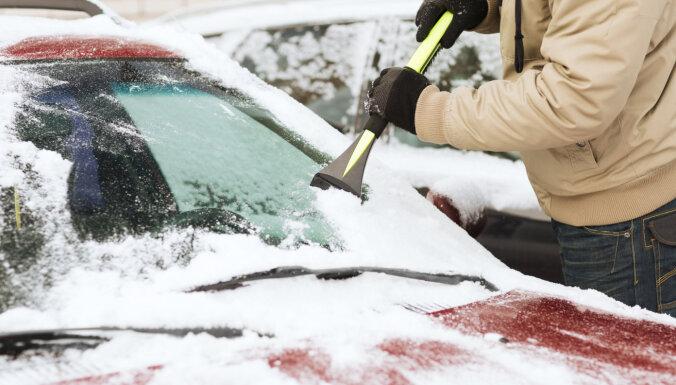 В ночь на субботу в Рижском регионе похолодает до -15 и начнется сильный снегопад