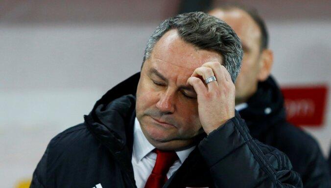 Stojanovičs: pēdējās divās spēlēs bijām ļoti tālu no profesionāla futbola