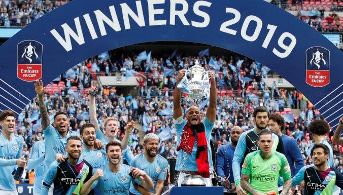 Mančestras 'City' diskvalificēts no UEFA Čempionu līgas; piespriests arī 30 miljonu naudas sods