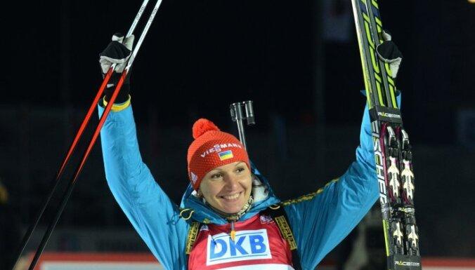 Украинская биатлонистка сенсационно берет золото на ЧМ