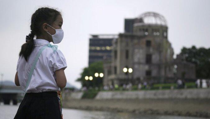 Piemin Hirosimas atomsprādziena 75. gadadienu