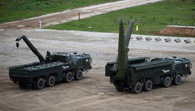AM: Baltijas valstis jau sen ir 'Iskander' raķešu rādiusā