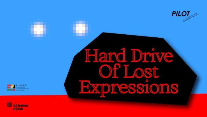 LMA telpā 'Pilot' atklās izstādi 'Hard Drive Of Lost Expressions'