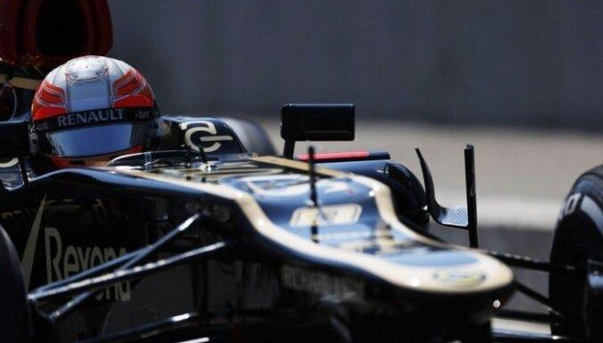 Grožāns pagarinājis līgumu ar 'Lotus' komandu