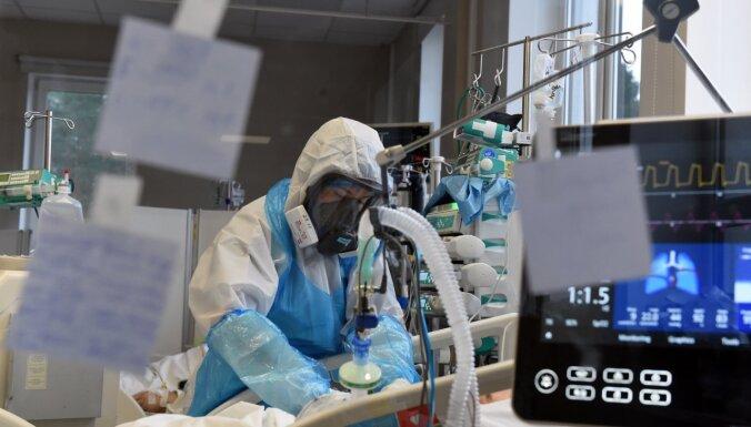 Otrdien Latvijā stacionēti 96 Covid-19 pacienti, bet izrakstīti 102