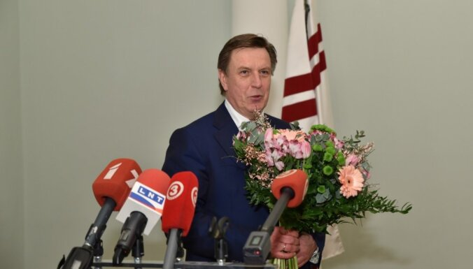 Кучинскиса поздравили премьер Литвы, президент Совета ЕС и президент Европарламента