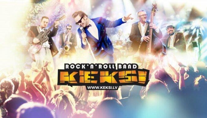 Iesāc Jauno gadu lustīgi – ar grupas 'Keksi' muzikālo skudrupūzni 2. janvārī pulksten 19.00