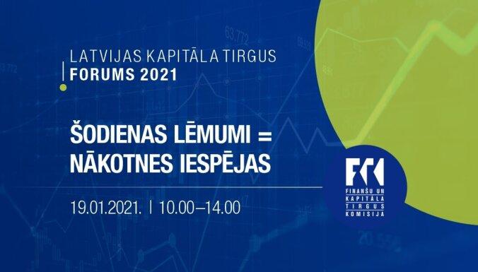 Latvijas kapitāla tirgus forums 2021 'Šodienas lēmumi = nākotnes iespējas'. Ieraksts.