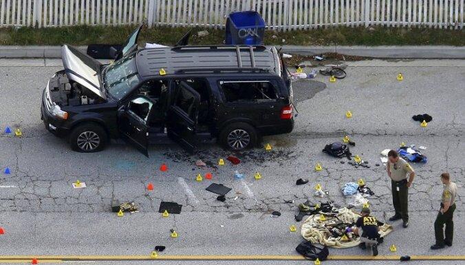 Kalifornijas slaktiņa rīkotājs bijis saistīts ar labi zināmiem islāmistu teroristiem