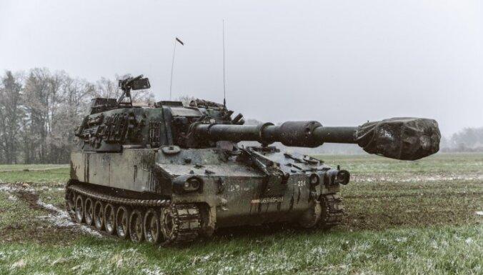 Армия Латвии получила уже более 30 закупленных у Австрии самоходных гаубиц