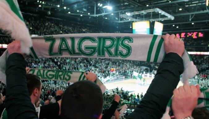 'Žalgiris' basketbolisti nonāk vienas uzvaras attālumā no kārtējā Lietuvas čempiontitula