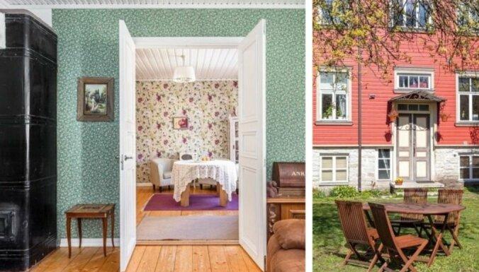 Sarkanā 'odziņa' Tallinā – māja ar saunu un romantisma vēsmām