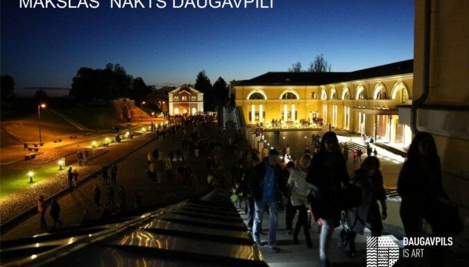 Daugavpils cietoksnī gaidāma mākslas nakts