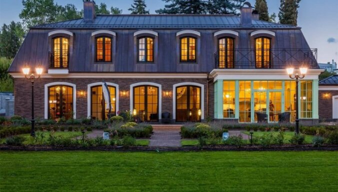 ФОТО. Один из самых роскошных домов Литвы ищет своего покупателя