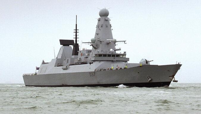 Lielbritānijas karakuģi dosies uz Melno jūru, ziņo laikraksts