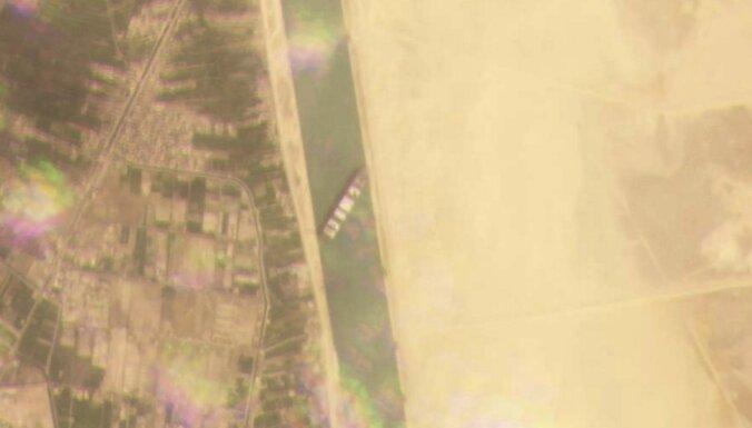 """""""Эвер Гивен"""" снят с мели в Суэцком канале, навигация может возобновиться в ближайшие часы"""