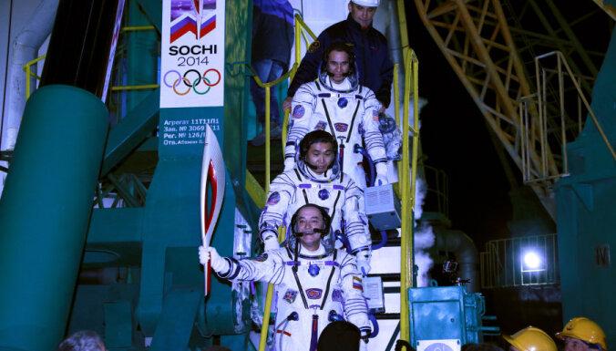 Олимпийский огонь Сочи-2014 отправился в космос