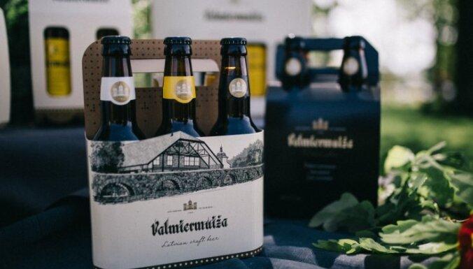 'Valmiermuižas alus' darītavas apgrozījums šogad sasniedzis gandrīz četrus miljonus eiro