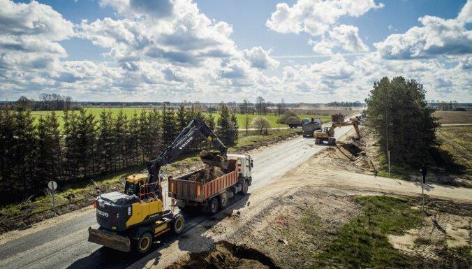 Līdz 2040. gadam 1020 km valsts autoceļu plāno pārbūvēt par četrjoslu ātrgaitas ceļiem