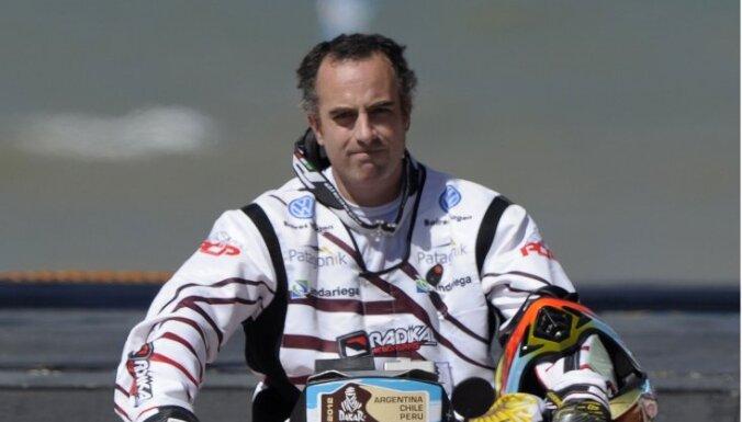 Dakaras rallijā nositas argentīniešu motociklists Voero