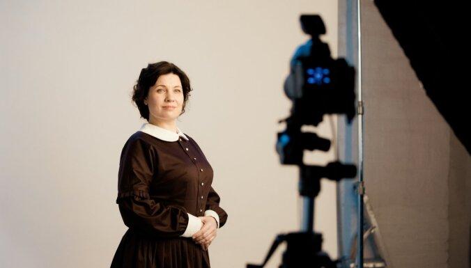 Operdziedātāja Marina Rebeka tikusi pie lomas spēlfilmā 'Zeme, kas dzied'