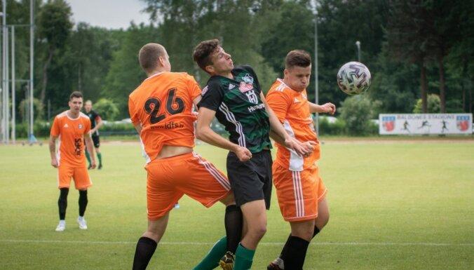 Futbola virslīgā iekļūs divas labākās nākotnes līgas vienības