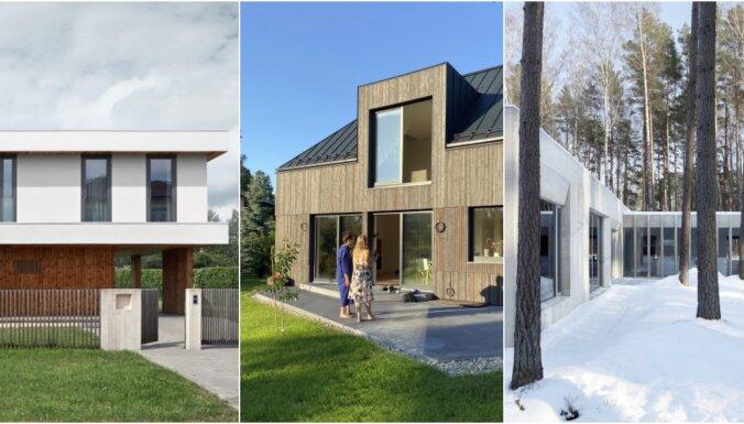 Foto: Kādas dzīvojamās mājas pieteiktas Latvijas Arhitektūras gada balvai 2021