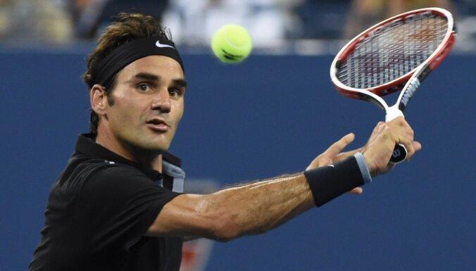 """Федерер впервые в карьере ушел с матч-пойнтов на """"Большом шлеме"""""""