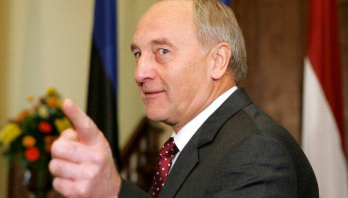 Andris Bērziņš, prezidents Andris Bērziņš, Latvijas prezidents